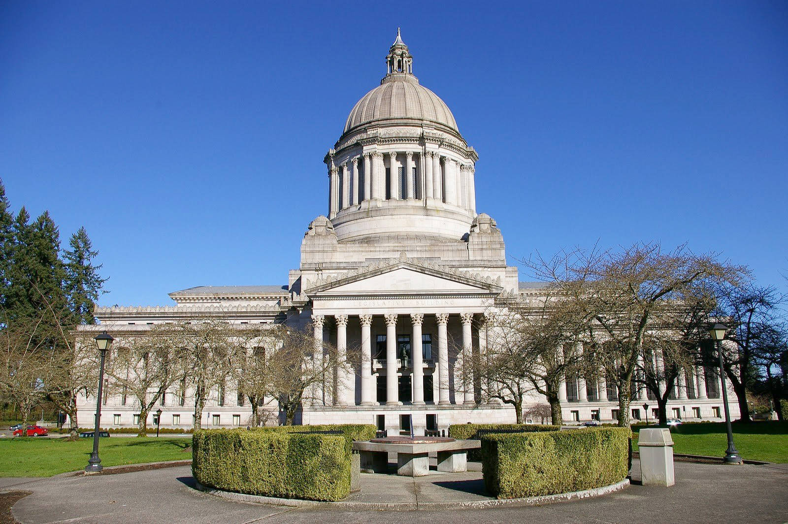 Washington State Capitol Building in Olympia. 	File photo